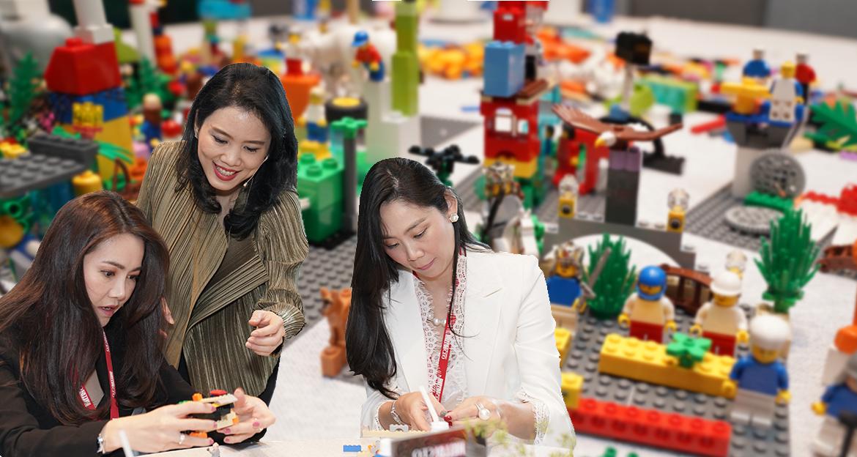 ค้นหาจุดเเข็ง Personal Branding ด้วยเทคนิค LEGO Serious Play