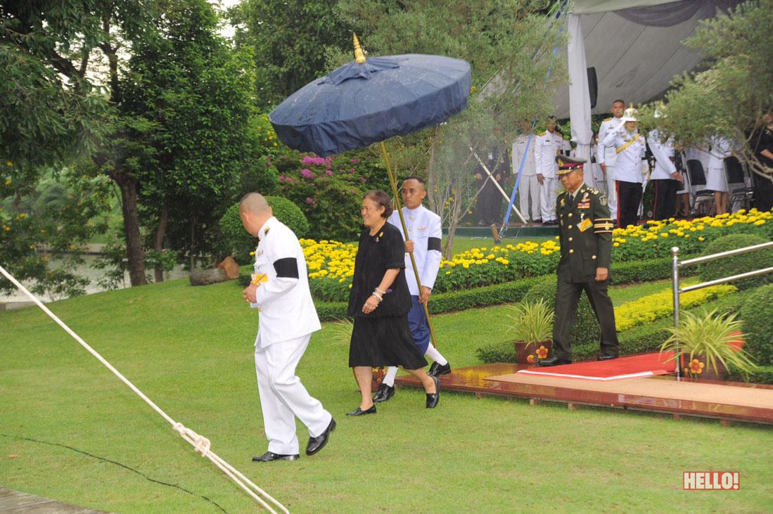 สมเด็จพระเทพรัตนราชสุดาฯ สยามบรมราชกุมารี เสด็จฯ ทอดพระเนตรความก้าวหน้าโครงการส่วนพระ