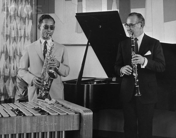 Benny Goodman and King Bhumiphol