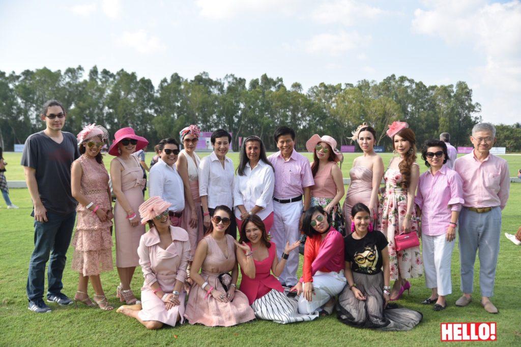 'แม่ลี-ปิ๊บปี้ พึ่งบุญพระ' และ 10 เซเลบริตี้ชื่อดังจัดเต็มในชุดสีชมพูร่วมงานการกุศล