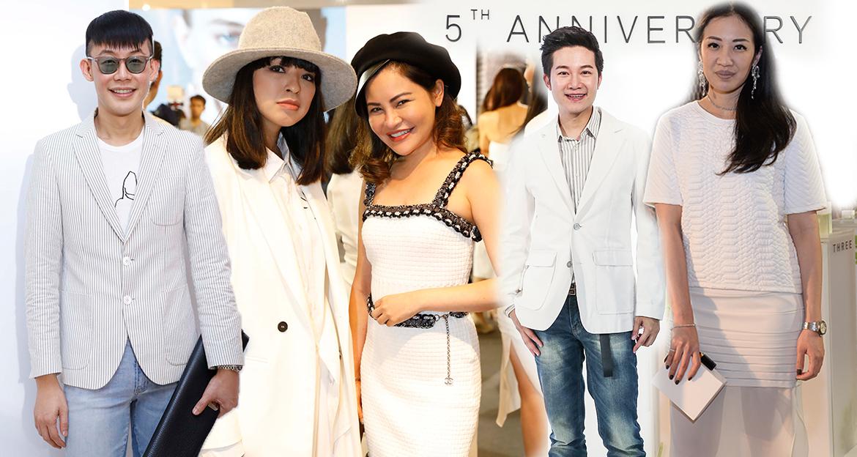 THREE,THREE cosmetic,THREE Cosmetic Thailand,เครื่องสำอาง,สารสกัดจากธรรมชาติ,เฟย์ อรชุมา ดุรงค์เดช,โอ๋ ฟูตอง,โอ๋ หทัยรัตน์ เจริญชัยชนะ,แบงค์ กัลยรัตน์ อัครเดชเดชาชัย,เมนี่ ภาดาภัสสรณ์ ภาดาพิลาสธานันทร์,อั๋น ภูวนาถ คุนผลิน,มาร์ค ธาวิน พี. เซียวตง,แก๊ป ปณิธิพัทธ์ พีรพัฒนกุล,ป๊อป วราวุธ เลาหพงศ์ชนะ