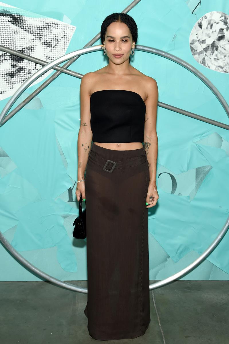 Kim Kardashian West, Blue Book 2018, The Four Seasons of Tiffany, Zoe Kravitz, Priyanka Chopra, Kris Jenner, Tiffany & Co., celebrities, celebrity news