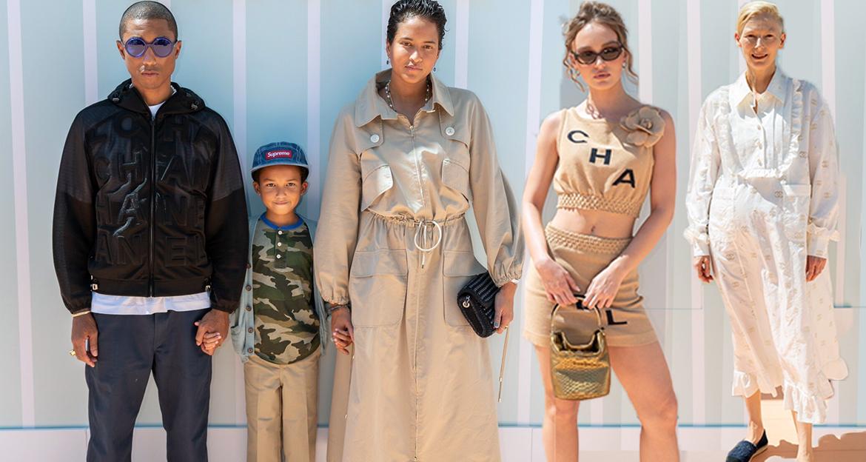 ลิลี่ โรส เดปป์, ฟาร์เรลล์ วิลเลียมส์, Chanel Cruise 2018, แฟชั่นโชว์, Pharrell Williams, Lily rose depp, runways, catwalk