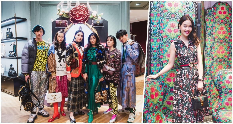Gucci, flagship store, ICONSIAM, Fashion, Celebrity News, เหล่าเซเลบริตี้, เซเลบ, แฟลกชิพ สโตร์, กุซชี่, แก๊ป-ปณิธิพัทธ์ พีรพัฒนกุล, ม.ล. รจนาธร ณ สงขลา, มาร์ค ธาวิน, ม.ล. อรดิศ สนิทวงศ์, พลอย หอวัง
