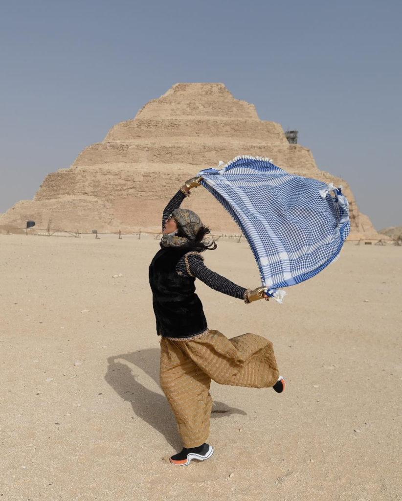 สุพรทิพย์ ช่วงรังษี, ทิปปี้, เซเลบริตี้, อียิปต์, ปิรามิด, ทริปท่องเที่ยว, คนดัง, ข่าวคราวคนดัง