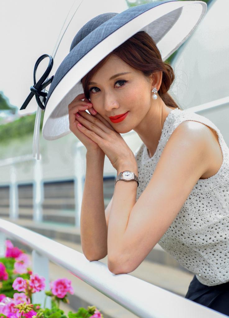 Longines Ambassador Of Elegance Chi Ling Lin At Royal Ascot