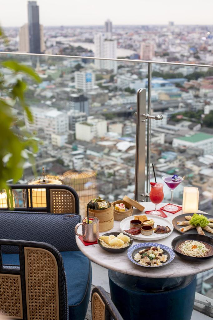 บรรยากาศ Yao Rooftop